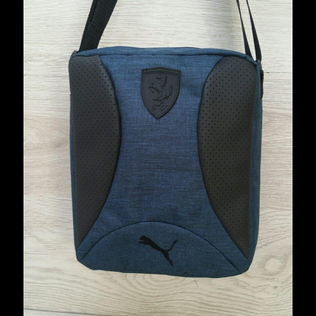 Барсетка сумка Puma мужская мессенджер 26x21 см