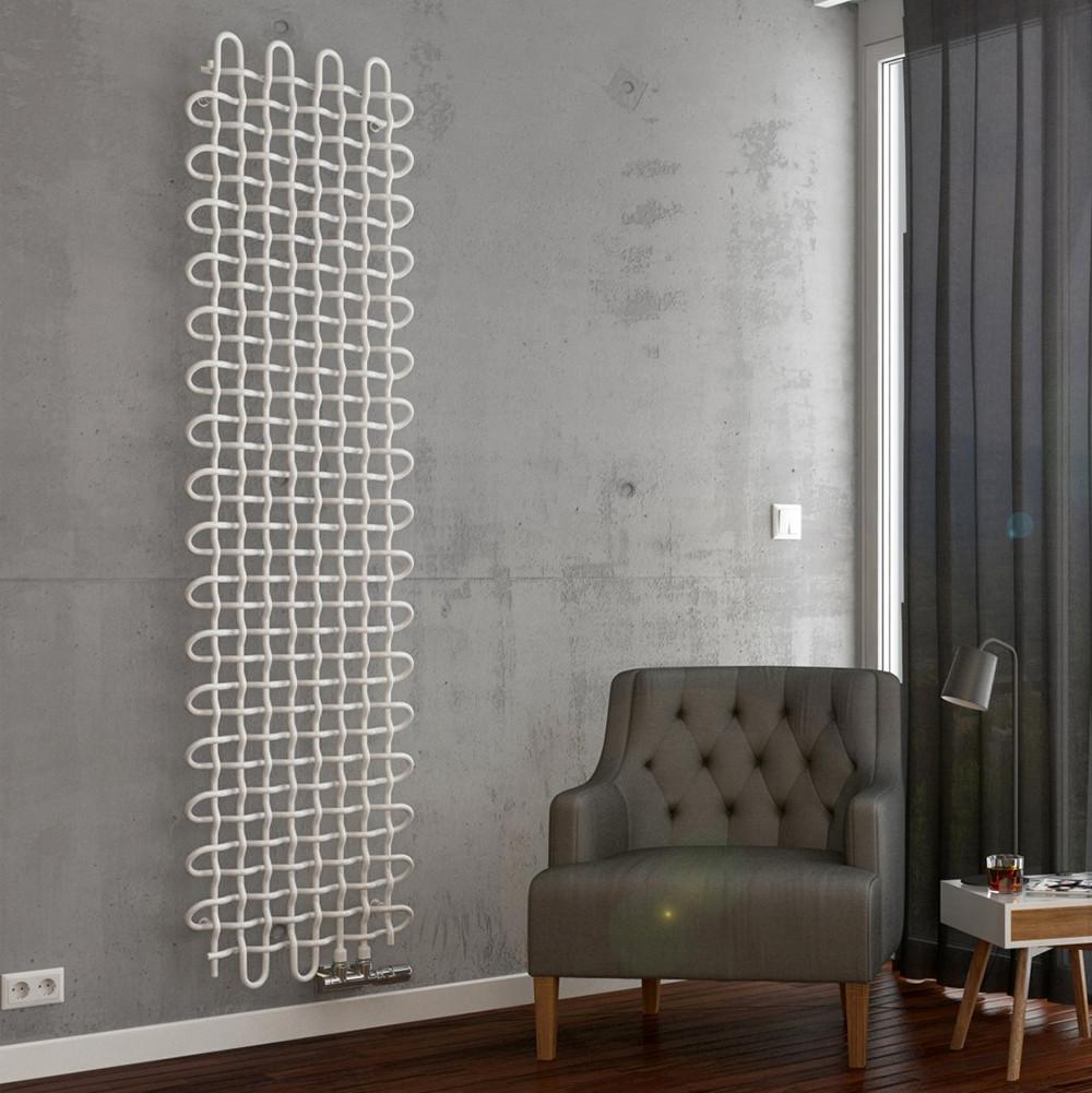 Дизайн радиатор Terma PLC VERTICAL 1600*463 White mat, фото 1