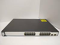 Коммутатор б/у Cisco Catalyst C3750 (WS-C3750-24TS-S)