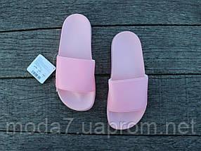 Шлепанцы женские розовые Athletic Атлетик оригинал, фото 3