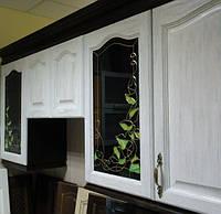 Витраж на кухонный фасад НS-45