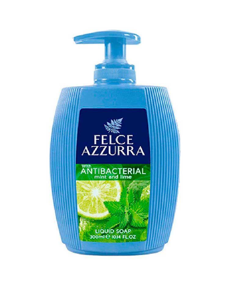 Жидкое мыло для рук с дозатором, 300 мл, Felce Azzurra  Antibacterico Фельче Азура