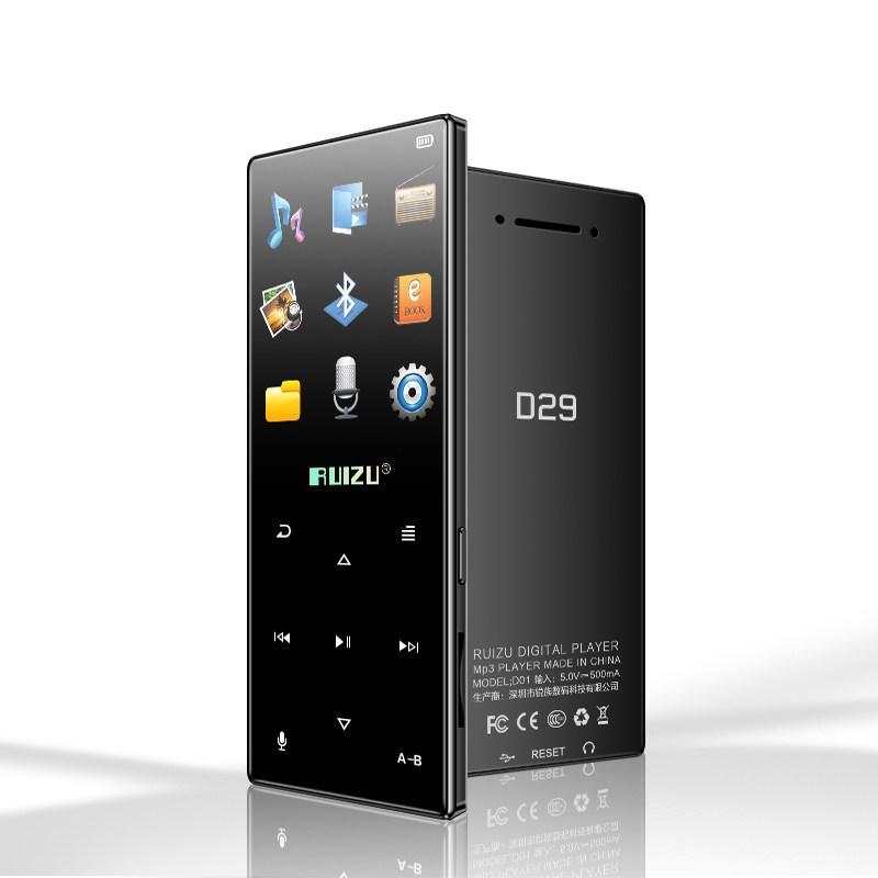 MP3 Плеер RuiZu D29 8Gb Hi-Fi Bluetooth Original Черный