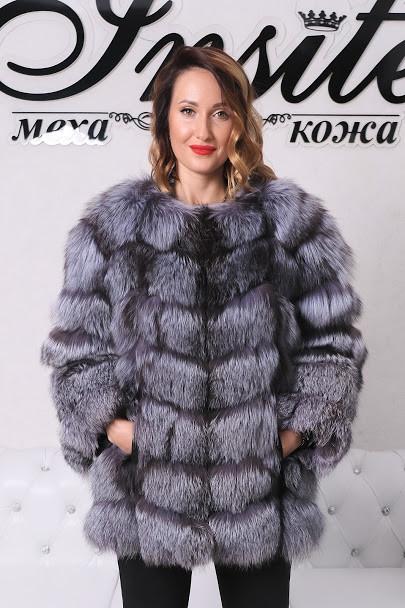 Полушубок-Жилетка Из Чернобурки 0108ШТ