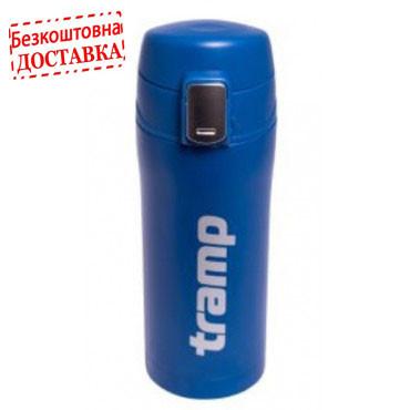 Термос - кружка Tramp 0,35 л колір синій TRC-106-blue.
