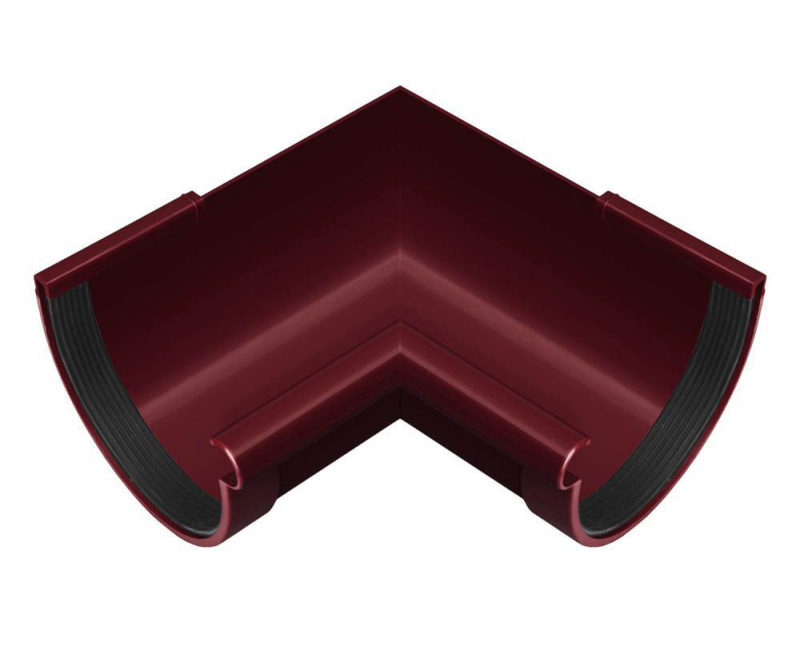 Угол желоба внутренний NewWay 90' 120  красный