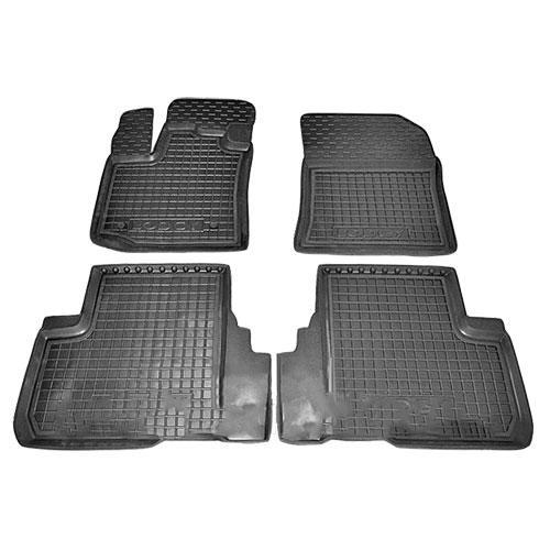 Коврики в салон для Renault Lodgy 2012-> черный, кт - 4шт 11417 Avto-Gumm