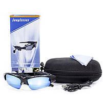 ✖Беспроводная гарнитура очки Lesko LK-086 Blue Bluetooth 4.1 батарея 100 мАч очки от солнца, фото 8