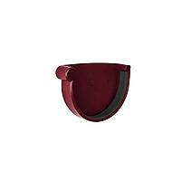 Заглушка желоба левая  NewWay 120  красная