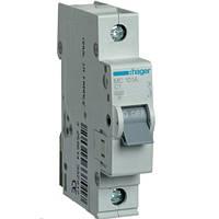 Автоматический выключатель 1Р 1Р 1А С MC101A Hager