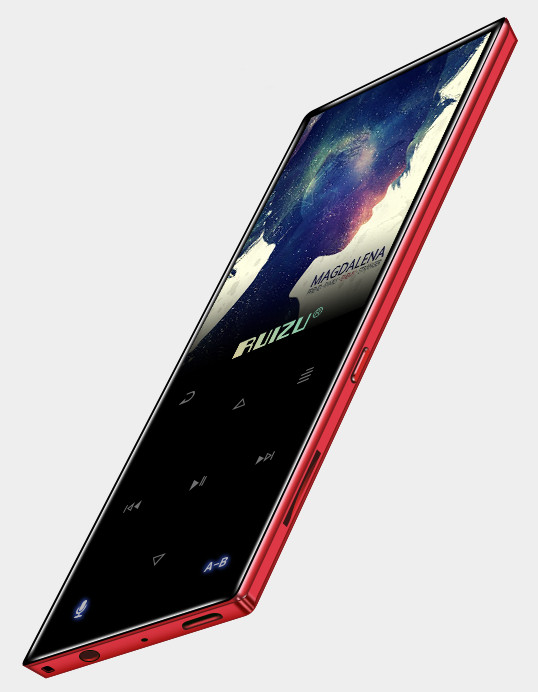 MP3 Плеер RuiZu D29 8Gb Hi-Fi Bluetooth Original Красный