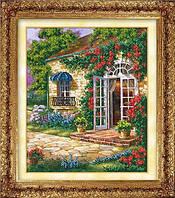 """Набор для вышивания бисером """"Дом в саду"""""""