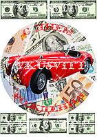 Съедобная печать на вафельной бумаге Автомобиль (022)