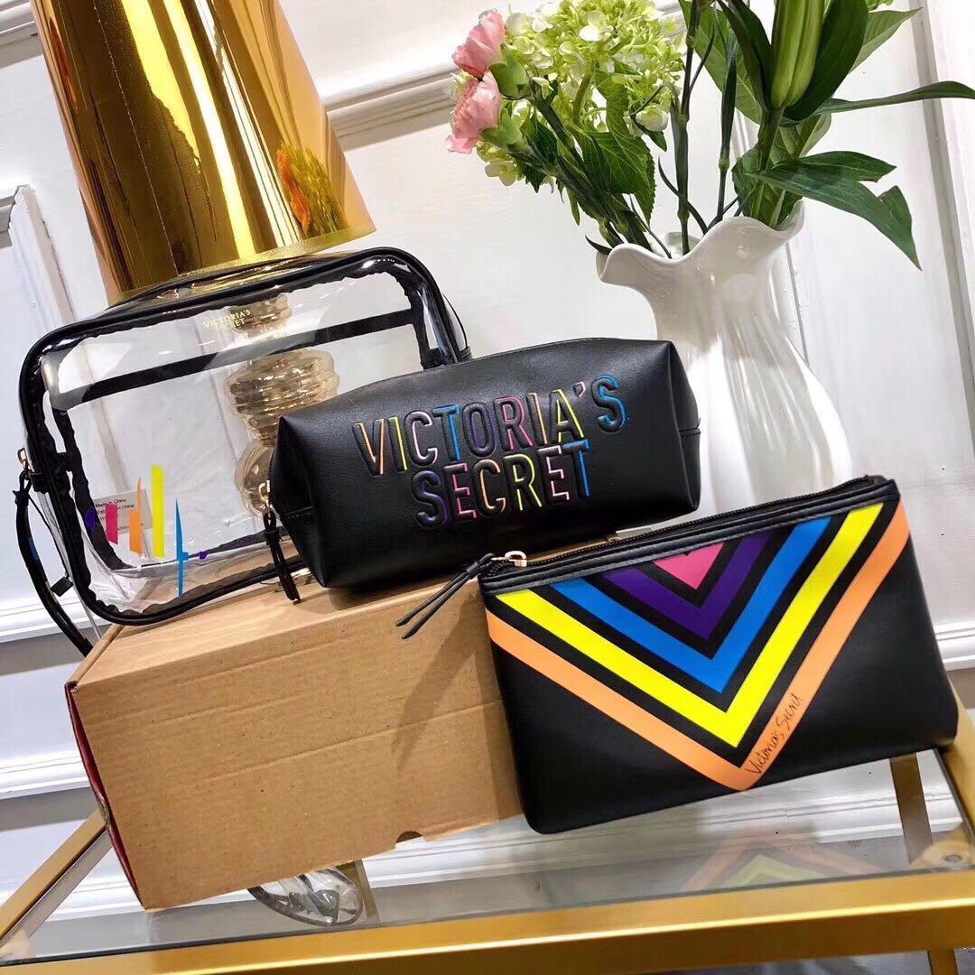 Набір косметичок / Косметичка / Кейс б'юті Victoria's Secret (Вікторія Сікрет) KS16