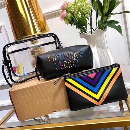 Набір косметичок / Косметичка / Кейс б'юті Victoria's Secret (Вікторія Сікрет) KS16, фото 2