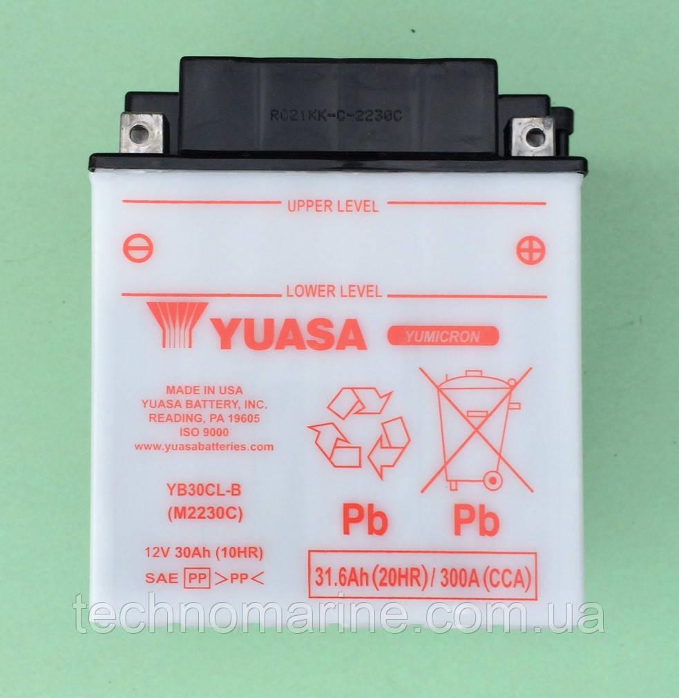Аккумулятор Yuasa YB30CL-B (гидроцикл) - Интернет-магазин «Техномарин» в Николаеве