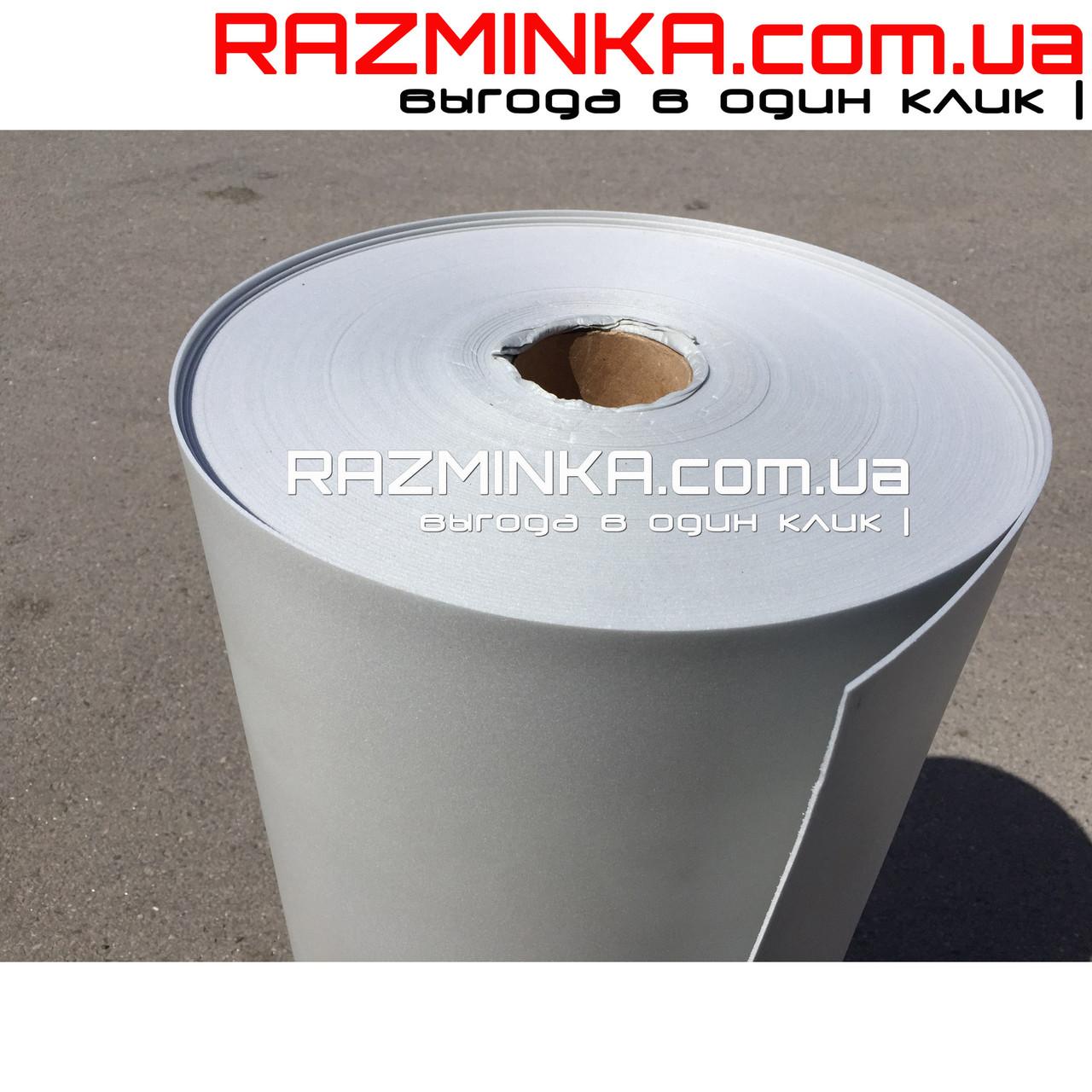 Цветной Изолон ППЭ 2мм, серебро (15 кв.м)