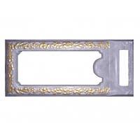 Форма Надгробие №08 стеклопластик MF 129х59х14/9 см