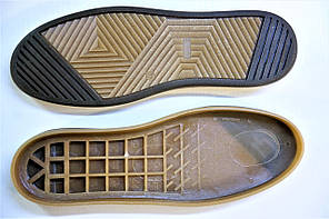 Подошва для обуви женская Емоджи 2коричн-бежев. р,36-42, фото 2
