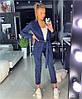 Женский элегантный брючный костюм в расцветках. ОЛ-24-0419, фото 5