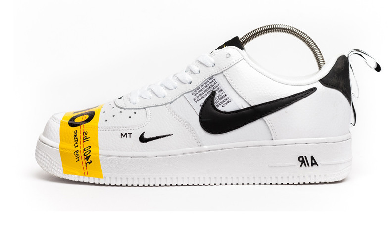pick up first rate promo codes Мужские кроссовки Off - White x Nike Air Force 1 07 LV8 Utility White/Black