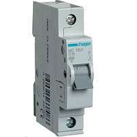Автоматический выключатель 1Р 16А С MC116A Hager