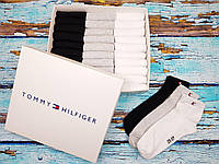 Годовой запас носков! Мужские укороченные носки Tommy Hilfiger 30 пар в наборе!