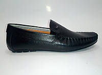 Мужские кожаные мокасины ТМ Rifellini, фото 1