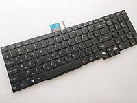 Клавиатура для ноутбуков Sony Vaio SVT15 (Tab 15 Series) черная без рамки, с подсветкой  RU/US