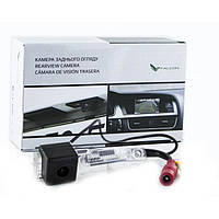Штатная камера заднего вида Falcon SC09-XCCD. Skoda Superb 2002-2008/VW Caddy 2004+/Caravelle 2003+/Eos 2005+/G, фото 1