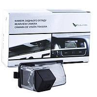 Штатная камера заднего вида Falcon SC22-XCCD. Nissan 350Z 2002+/370Z 2009+/Note New/Tiida 5D 2004-2014/Patrol Y, фото 1