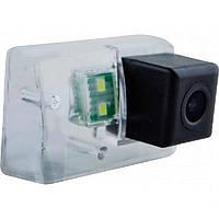 Штатная камера заднего вида Falcon SC25-XCCD. Peugeot 206 1998+/207 2006-2012/307 2001-2008/307SW, фото 1