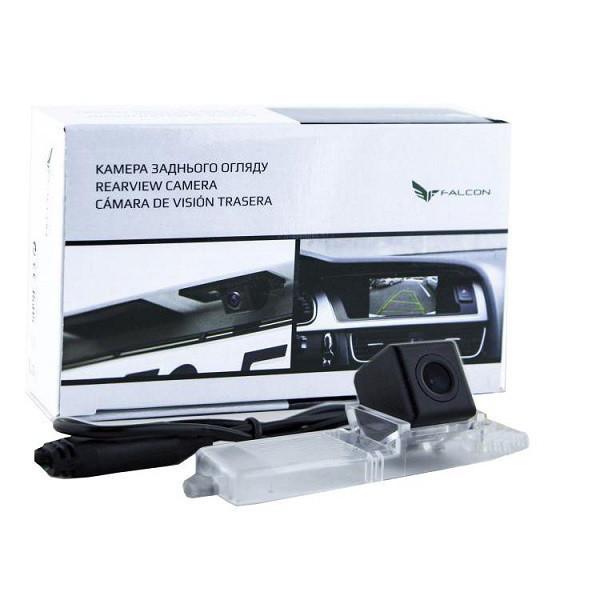 Штатная камера заднего вида Falcon SC31-XCCD. Toyota Highlander 2007-2014/Prius 2003-2011/Lexus RX300 1997-2003