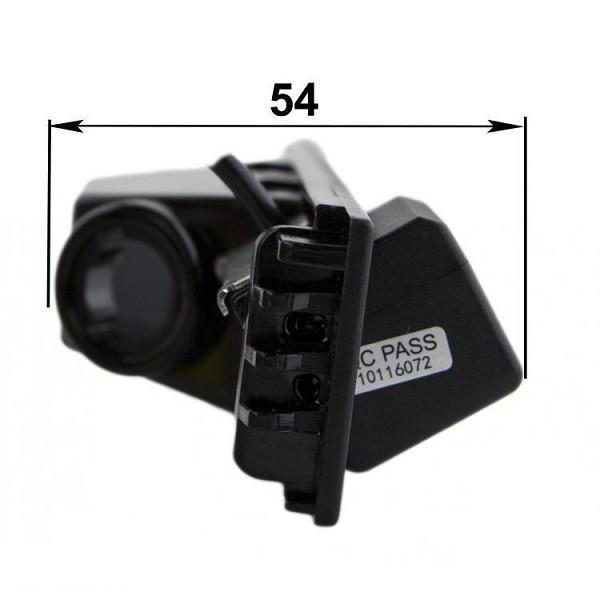 Штатная камера заднего вида Falcon SC34-XCCD. Hyuindai IX35 2010+