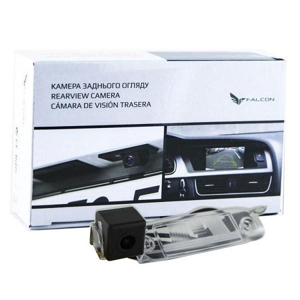 Штатная камера заднего вида Falcon SC42-XCCD. Hyundai Accent 2006-2010/Elantra 2006-2010/ix55 (2008+/Sonata YF