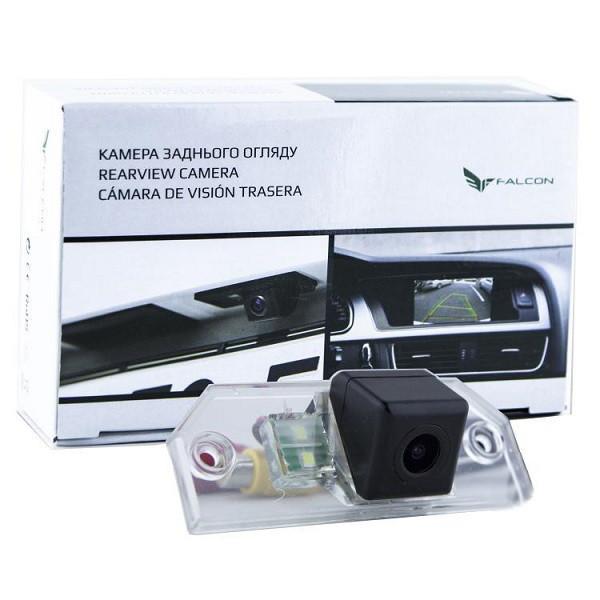Штатная камера заднего вида Falcon SC47-XCCD. Ford C-Max I 2003-2010/Focus II 4D 2004-2011/Focus II Universal 2