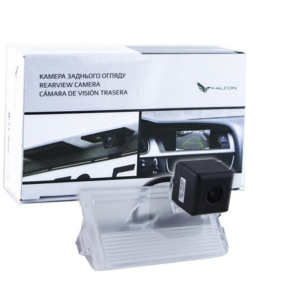 Штатная камера заднего вида Falcon SC56-XCCD. LandRover III 2002-2012/Sport 2005-2012/Discovery III 2004-2009/F