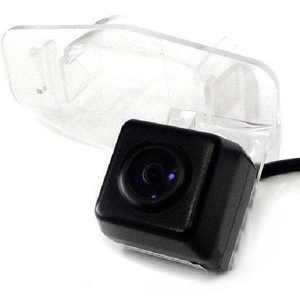 Штатная камера заднего вида Falcon SC60-XCCD. Honda Civic седан 2000-2005/Civic хэтчбек 2003-2005
