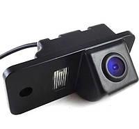 Штатная камера заднего вида Falcon SC68-XCCD. Audi A1 2010+/A4 2008-2013/A5 2007+/A6 2011+/A7 2010+/Q3 2011+/Q5, фото 1