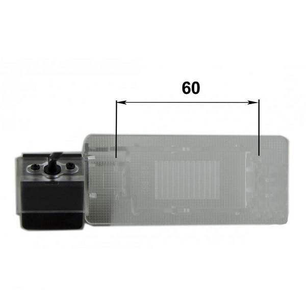 Штатная камера заднего вида Falcon SC82-XCCD. Seat Alhambra 2010+/Ibiza 2012+/Skoda Octavia A7 2013+/Rapid 2012