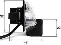 Штатная камера заднего вида Falcon SC86-XCCD. Nissan Almera 2012+/Maxima VII 2008+/Teana 2003-2008/Tiida 4D 200, фото 1