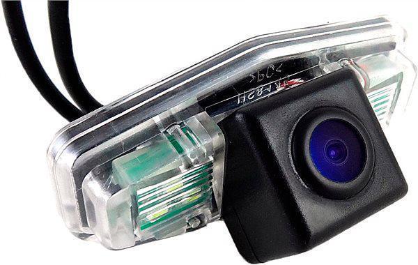 Штатная камера заднего вида Falcon SC91-XCCD. Honda Accord VI седан 1996-2003/Accord VI хэтчбек 1999-2003/Accor