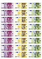 Съедобная печать на вафельной бумаге Деньги (07)
