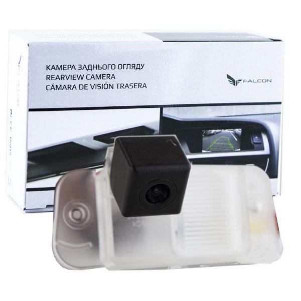 Штатная камера заднего вида Falcon SC103-XCCD. SsangYong Actyon 2006-2010