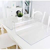 Защита на стол   Мягкое стекло Прозрачная силиконовая скатерть 3 в 1 Скидка 38%