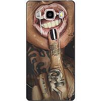 Чехол силиконовый бампер для Samsung J5 2016 Galaxy J510 с рисунком Swag