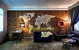 Декоративная вставка для гипсового кирпича  с оттиском  MASCHLER Бежевый, фото 2