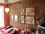 Декоративная вставка для гипсового кирпича  с оттиском  MASCHLER Красный, фото 6