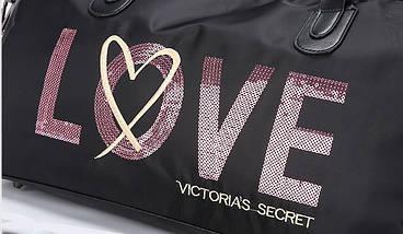 Сумка спортивная / пляжная / городская Виктория Сикрет (Victoria s Secret) VS51, фото 3