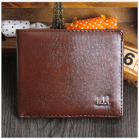 Мужской кошелек Очень тонкий , коричневый, фото 1